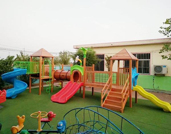 幼儿园实木户外大型玩具