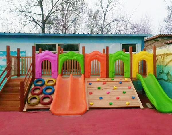 幼儿园实木大型户外玩具