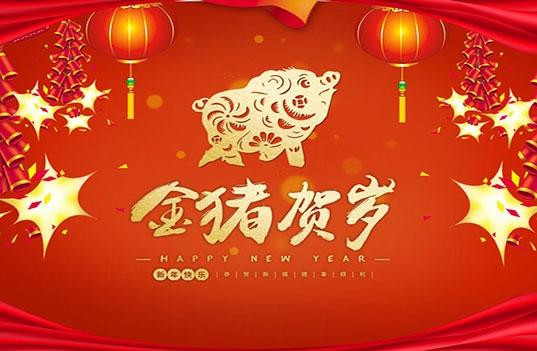 扬州彩美乐教玩具有限公司祝大家新年快乐!