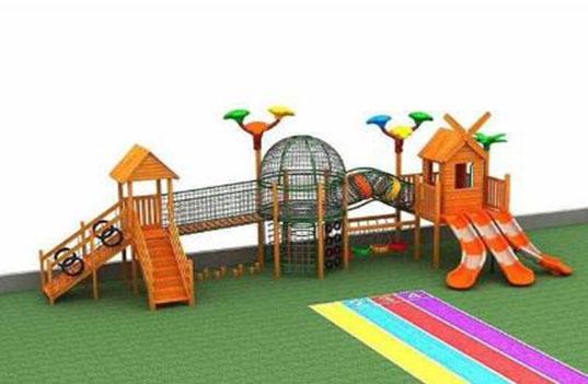 幼儿园选购木制滑梯的优势有哪些?