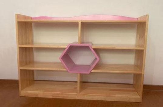 市场上的幼儿园实木收纳书架柜的优势有哪些?