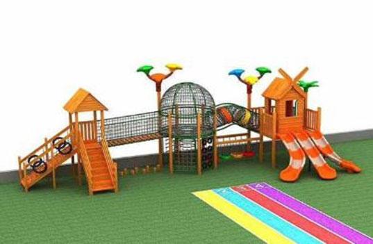 不同类型的幼儿园大型户外玩具对孩子的启发