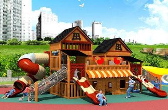 如何保证木制大型幼儿园玩具的使用安全?