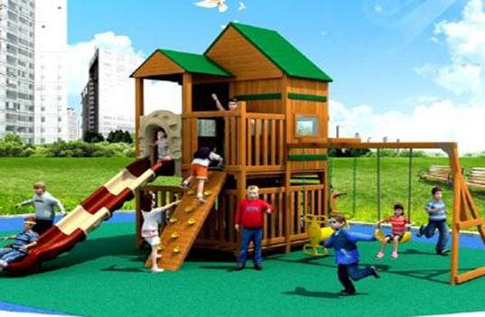 户外的木制大型幼儿园玩具应该如何保养?