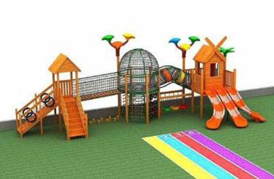 幼儿园户外玩具滑梯组合的选购要求?
