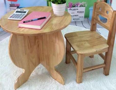 幼儿园应该如何挑选家具实木卡通椅?