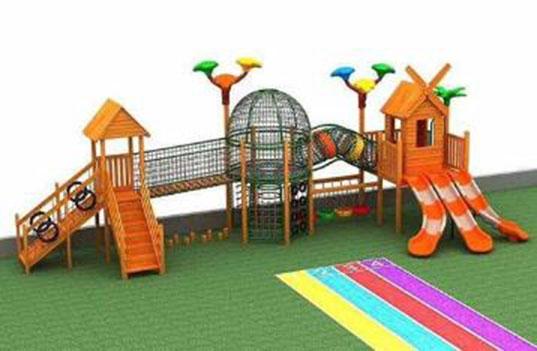 幼儿园玩具滑梯组合的安全性怎么样?