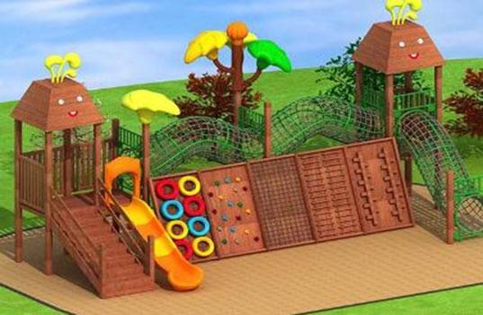 为什么孩子会这么喜欢幼儿园玩具滑梯组合?