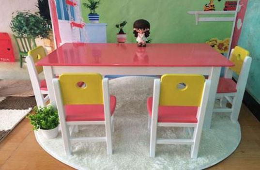 幼儿园教学木制桌椅家具的选购要注意什么?