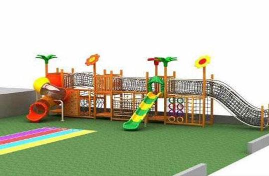 幼儿园户外大型玩具设计时有什么注意事项?