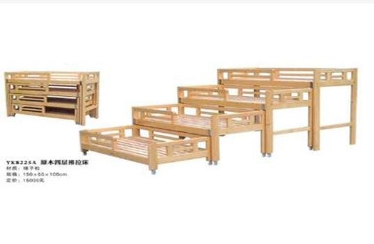 幼儿园木制家具床的材质种类有哪些?