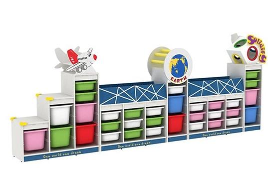 幼儿园组合移动书架柜的主流风格有哪些?