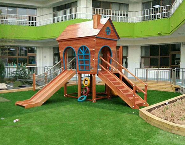 幼儿园户外实木家具大型玩具