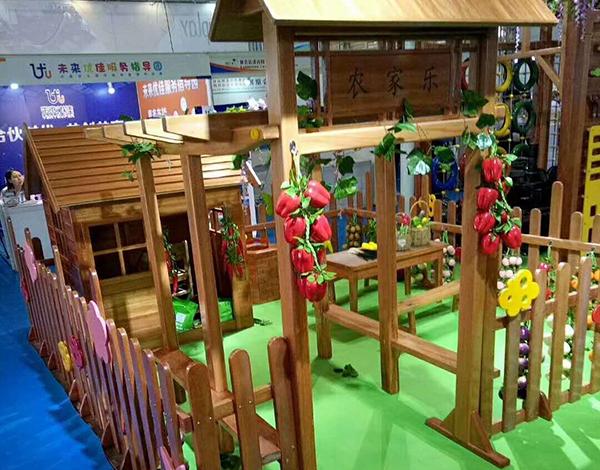 幼儿园户外实木大型玩具