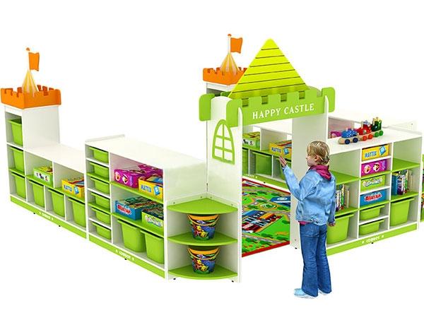 幼儿园家具玩具收纳柜活动组合柜