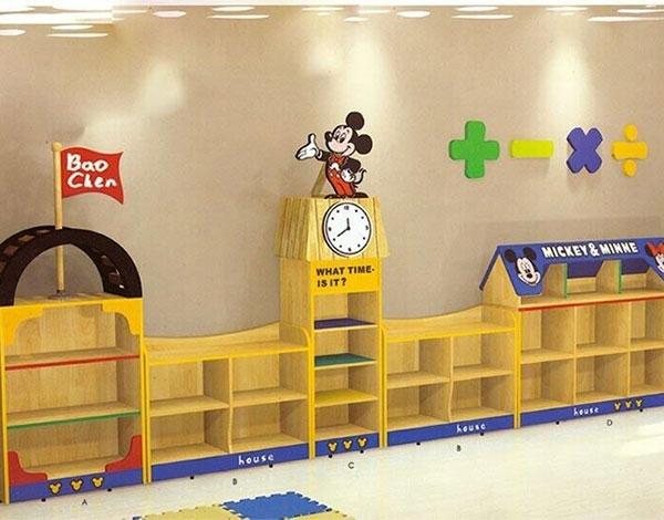 幼儿园区域活动组合柜