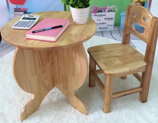 幼儿园实木圆凳家具