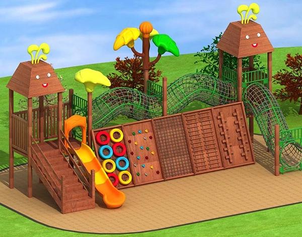 幼儿园大型木制家具户外玩具