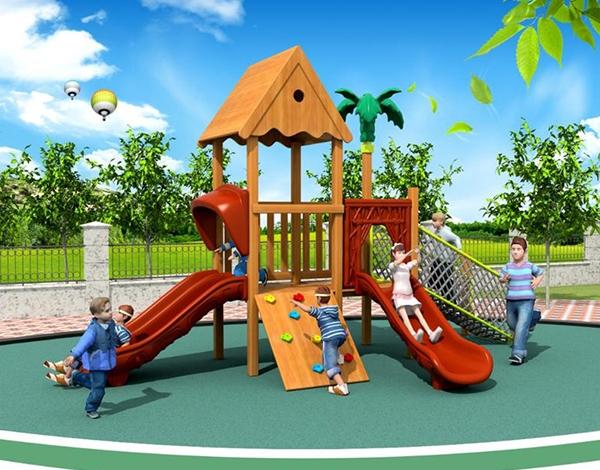 幼儿园玩具滑梯组合