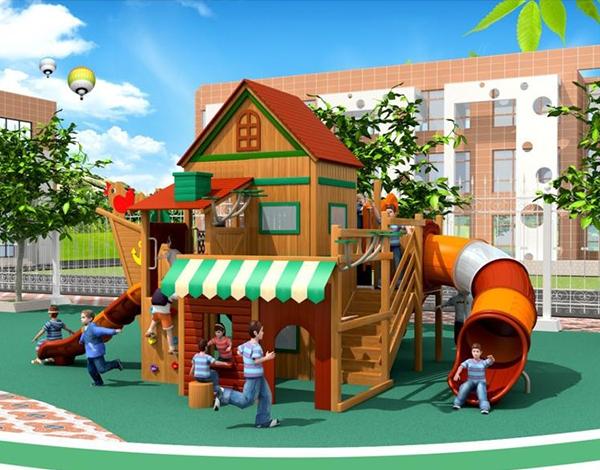 木制大型幼儿园玩具