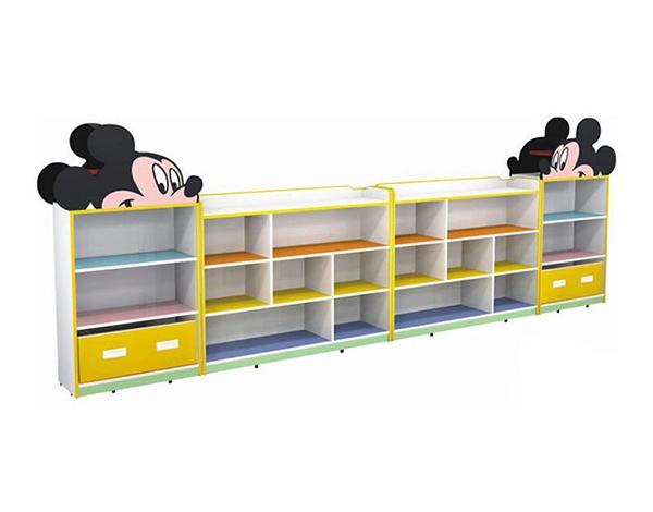 幼儿园实木家具组合柜