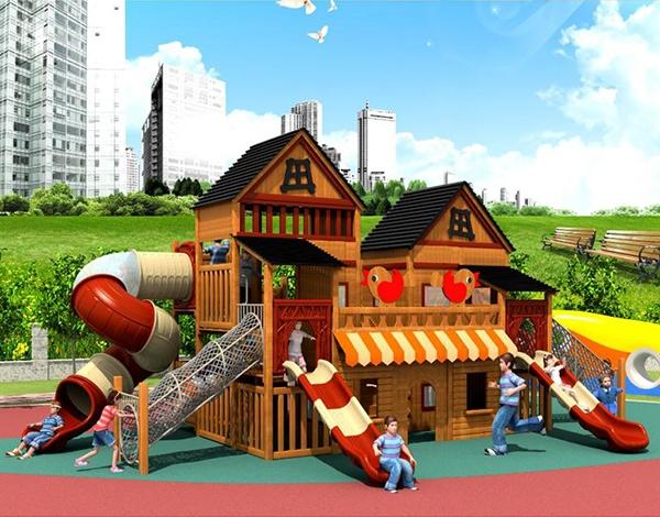 幼儿园户外大型玩具滑梯组合