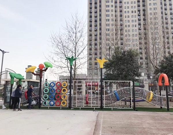 大型户外攀爬运动组合玩具
