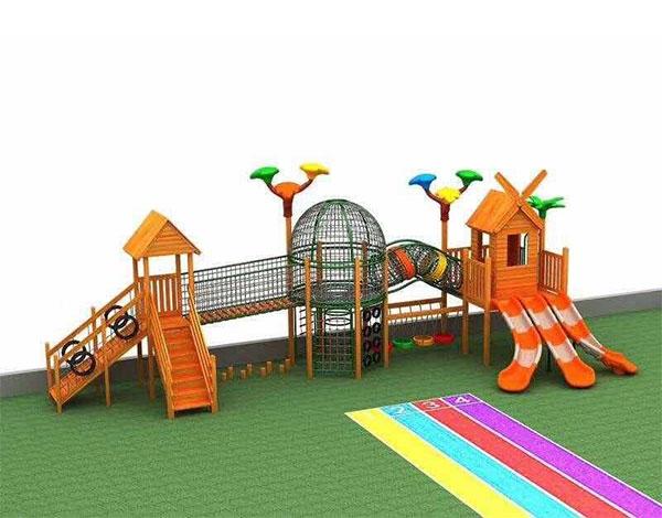 幼儿园户外滑梯组合