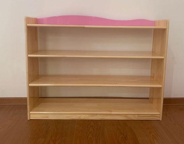 玩具实木幼儿园收纳柜