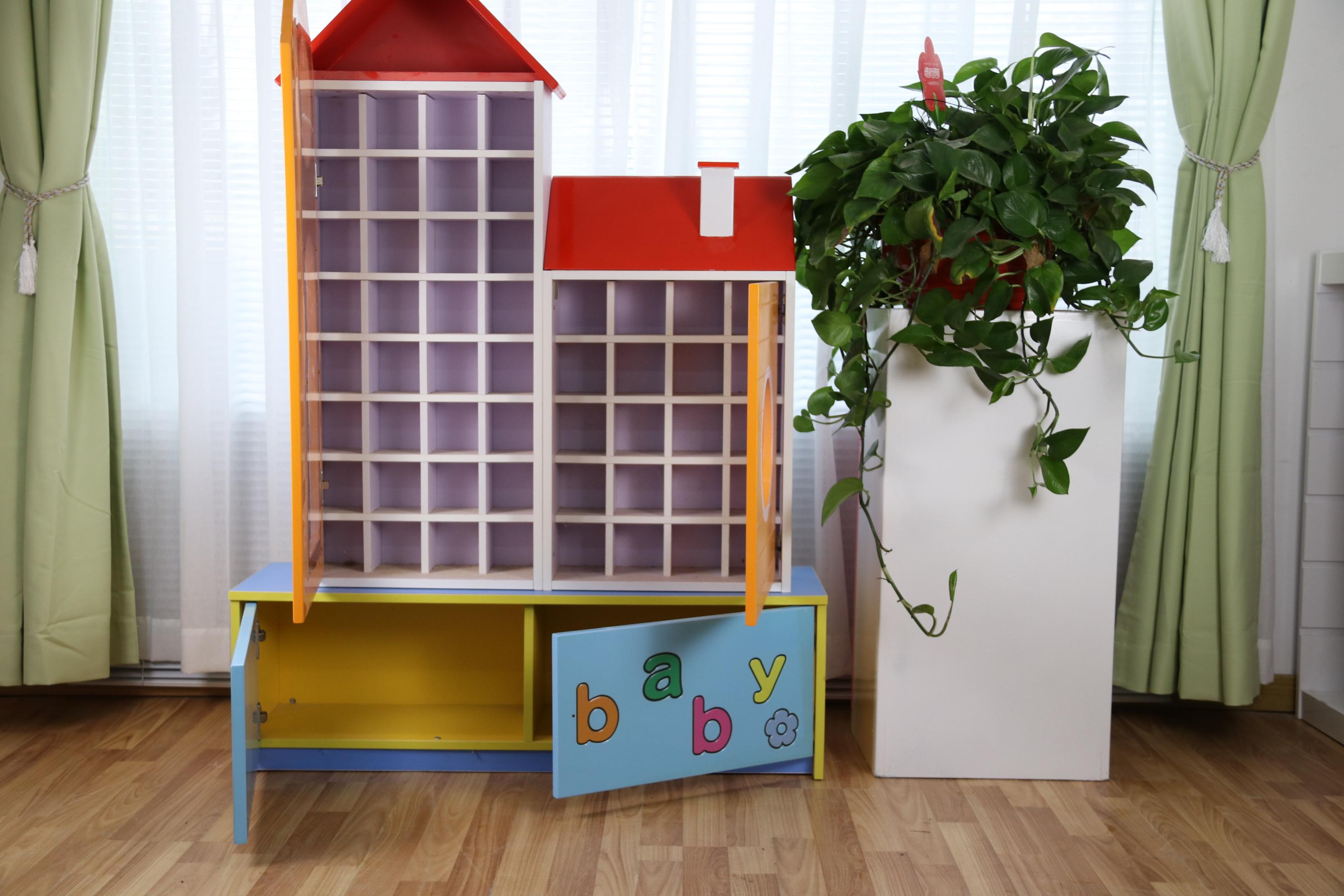 幼儿园区域活动组合柜定做是如何选择?